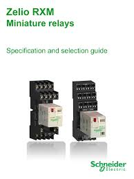 RXM Series Relays in stock