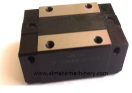 CSK linear bearings and Rails