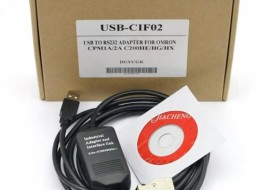 USB-CIF02 PLC Cable For Omron PLC